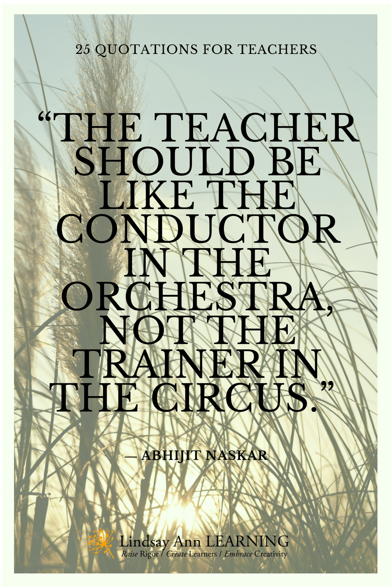 25 Best Quotes About Teaching | Lindsay Ann Learning English Teacher