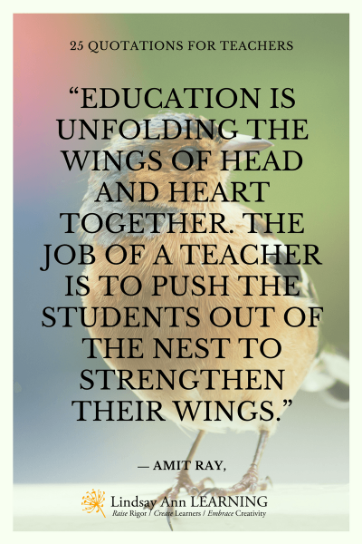 Quotes About Teaching - Lindsay Ann Learning