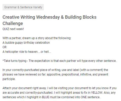 How I Use Collaborative Writing in the ELA Classroom