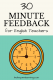 English Teachers, Save Time with Feedback Letters