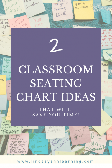 Classroom Seating Chart Ideas for Teachers