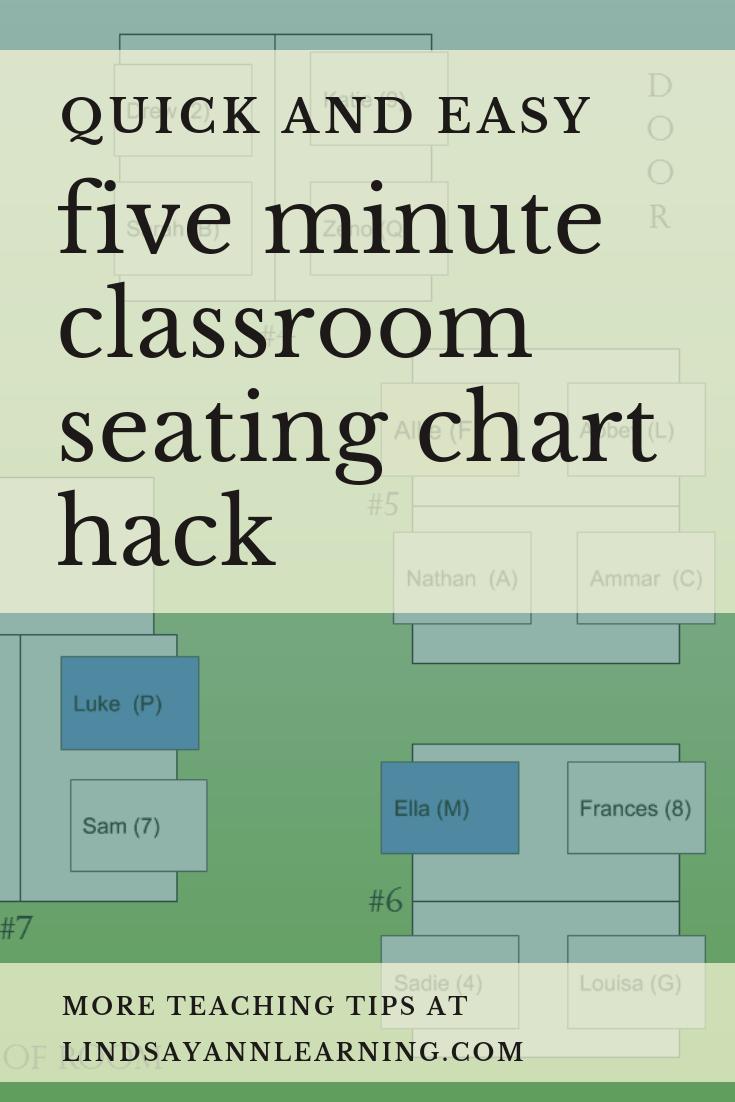 Classroom Seating Chart Hacks Lindsay Ann Learning English Teacher