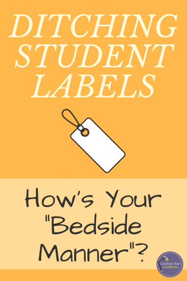 Ditching Student Labels English Teacher Blog