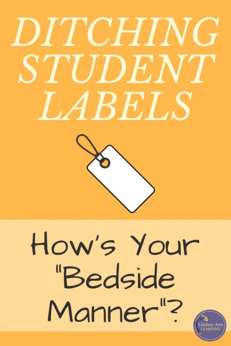 Ditching Student Labels English Teacher Blog