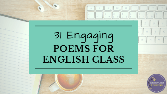 31 Engaging Poems for High School English Class | English
