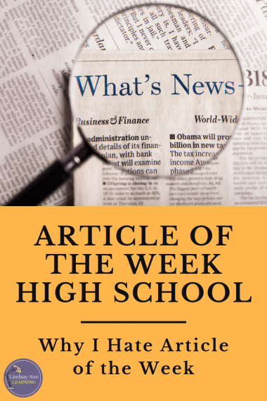 article-of-the-week