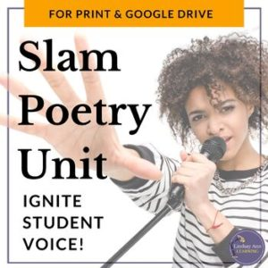 Slam Poetry Unit Plan, Activities Bundle
